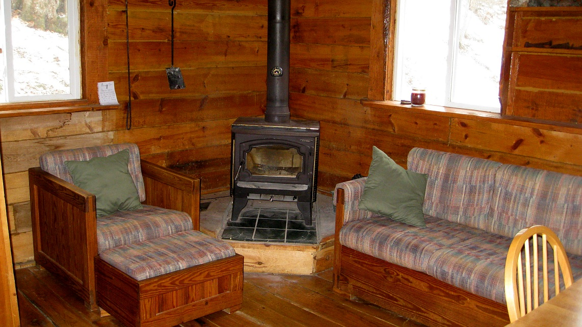 ... wood stove (as well as an optional large off-peak electric heater) to  warm you on cold winter days. The valley stays cool most summer nights but  air ... - Property From Rush Creek Realty